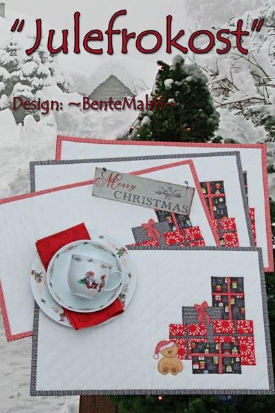 Bilde av 178 Bente Malm Mønster Julefrokost