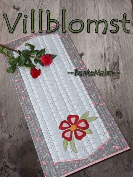 Bilde av 214 Bente Malm Mønster Villblomst