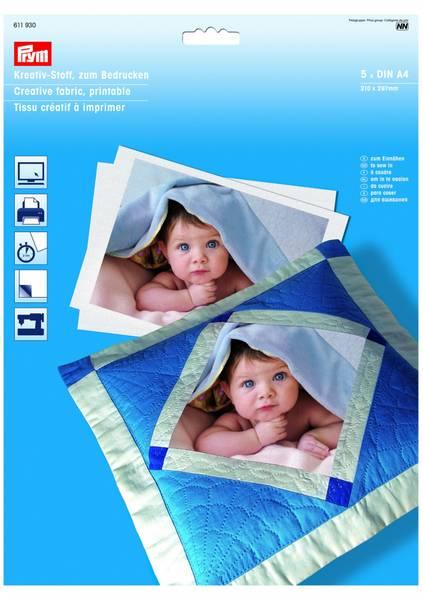 Bilde av Prym - Creative fabric - Printable A4 5stk 611 930