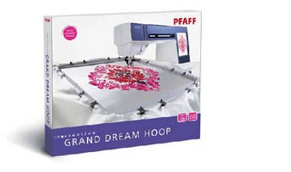 Bilde av (20A) Pfaff Creative Grand Dream Hoop