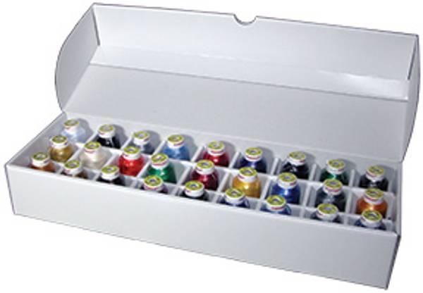 Bilde av Sortiment sett Poly 60 - 27 farger a 1500 meter (38C7)