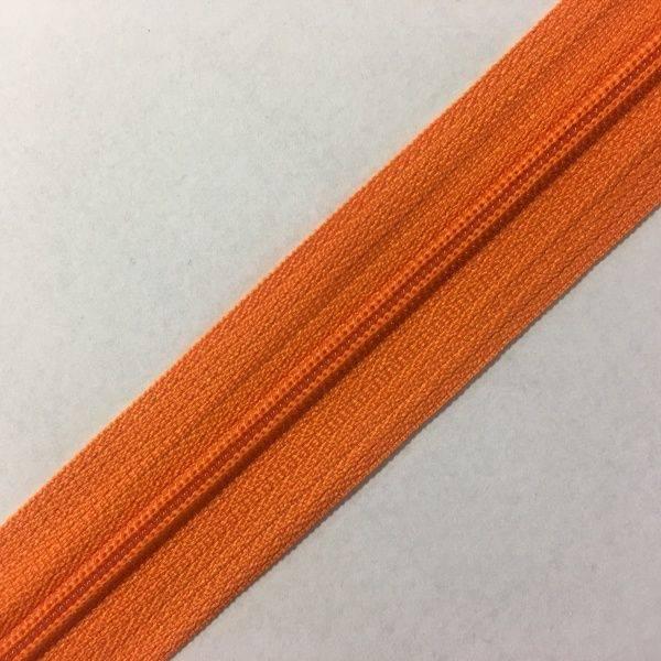 Bilde av Cose Glidelås oransje 6mm - 1m