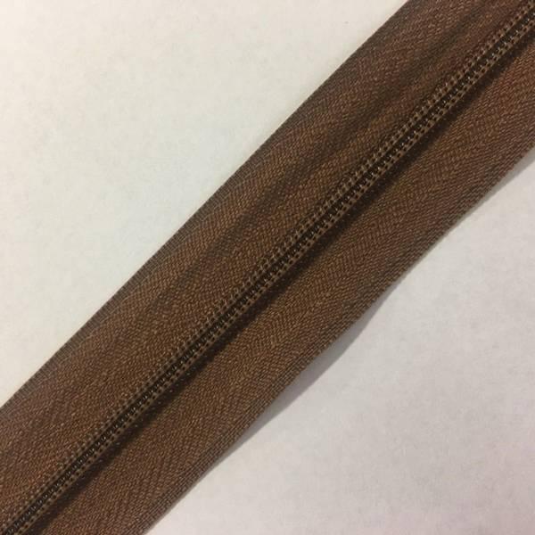 Bilde av Cose Glidelås brun 6mm - 1m