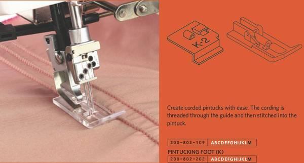 Bilde av (2E11A) Snor/båndguide (K2) / Cording guide (K-2)