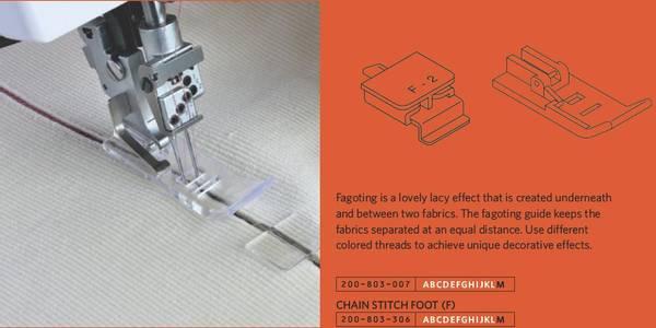 Bilde av Fagottguide (F2) / Fagoting guide (F-2) 1200D/1100D (2E10B)