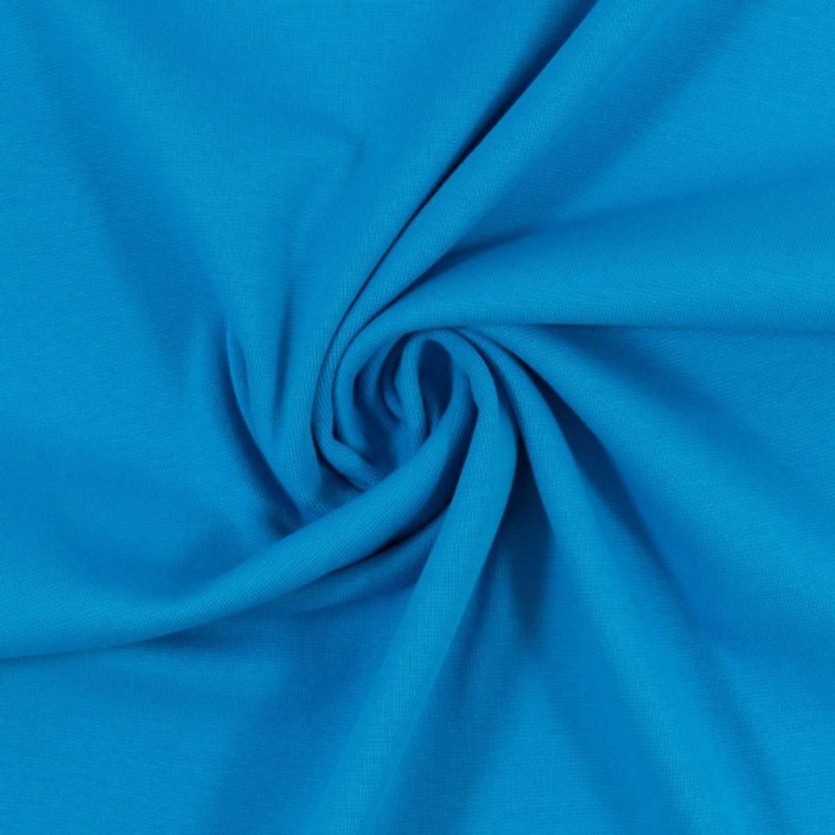 Heike Rundstrikket ribb 000842 Plain, turquoise