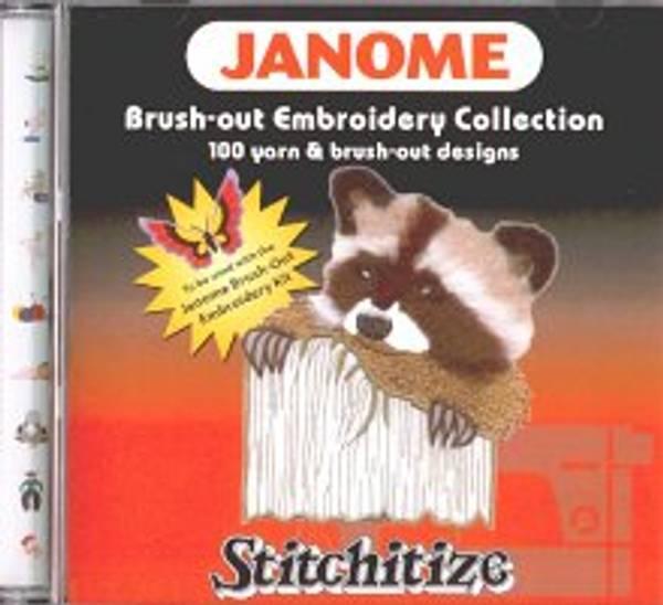 Bilde av (20D) Janome CD Rom Brush out