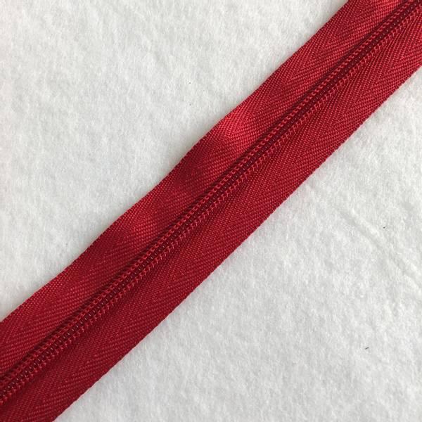 Bilde av Cose Glidelås rød 6mm - 1m