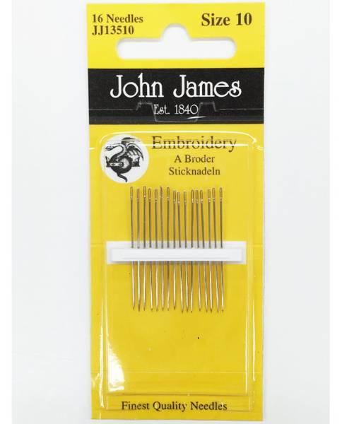 Bilde av (5A24) Embrodery size 10 John James