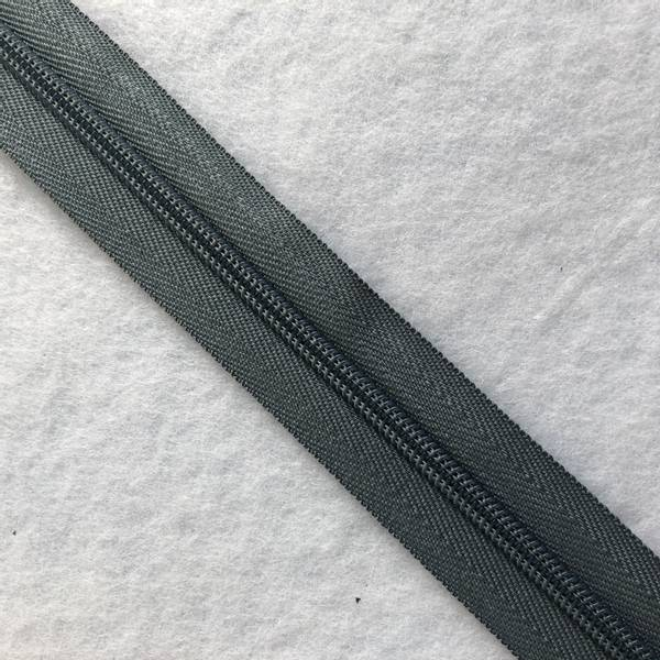 Bilde av Cose Glidelås grå 6mm - 1m