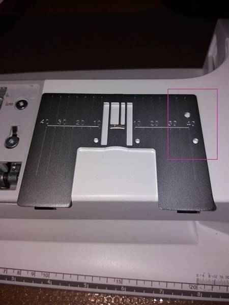 Bilde av (D23) Stingplate for Husqvarna gr 7-8 hull til kantbåndsapp
