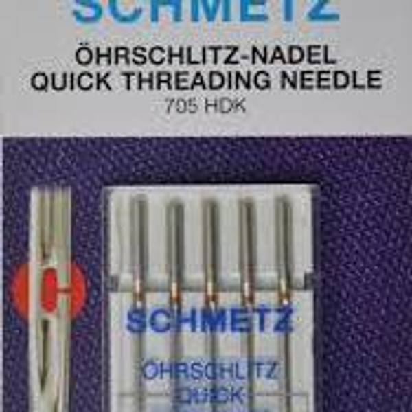 Bilde av (23H1)Schmetz Nåler Quick Threading 80/12