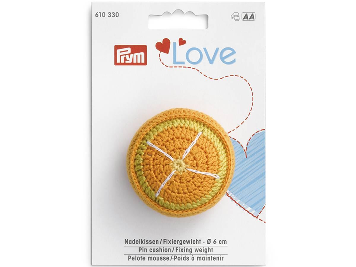 Prym Love – Nålepute / Vektlodd – Appelsin 610330