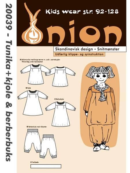 Bilde av ONION KIDS TUNIKA + KJOLE & BERBERBUKSE 20039
