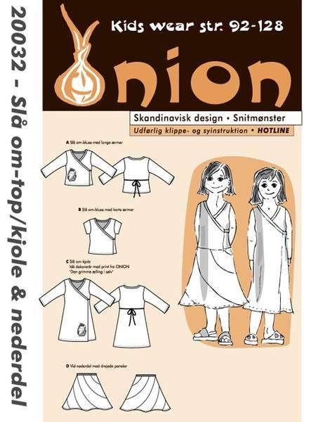 Bilde av ONION KIDS OMSLAGSTOPP/KJOLE & SKJØRT 20032