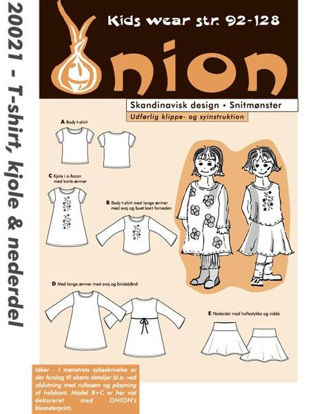 Bilde av ONION KIDS T-SHIRT, KJOLE & SKJØRT 20021
