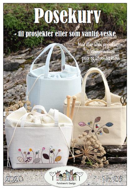 Bilde av 219 AnnaKa Mønster Posekurv