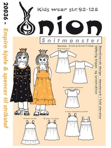 Bilde av ONION KIDS EMPIRE KJOLE & SPENCER 20036