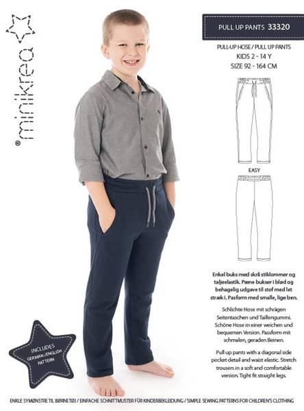 Bilde av MINIKREA Pull-up bukse 2-14 (92-164cm) 33320