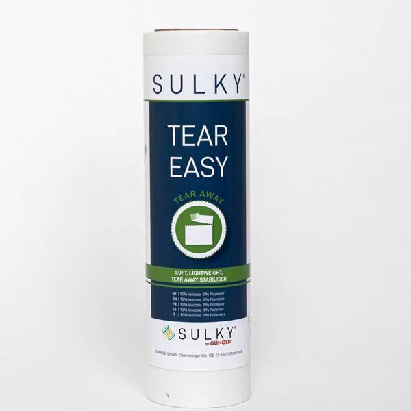 Bilde av SULKY Tear Easy rivevlies HVIT  10 meter x 25cm (32B2)