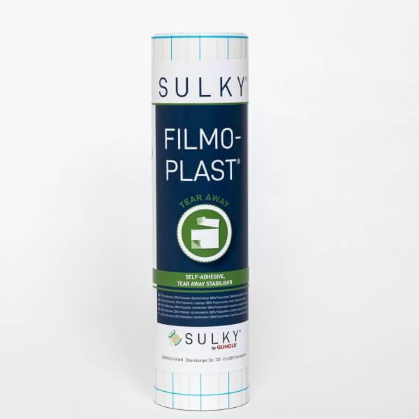 Bilde av SULKY FILMOPLAST selvklebende HVIT 25cm x 5meter (34A3)