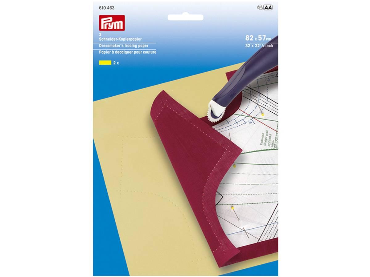 Prym Overføringspapir 82x57cm – 2ark gul 610463