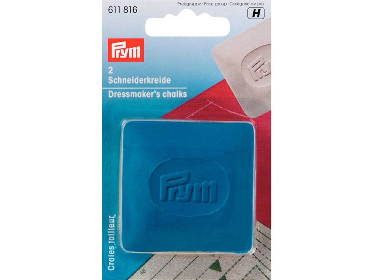Prym Skredderkritt - blå og gul 2 stk. 611816