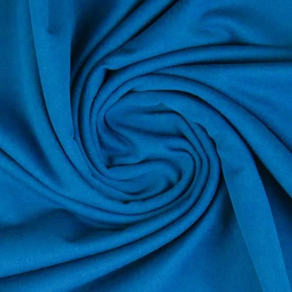 Bilde av Vanessa, Cotton Jersey 000842 Plain, turquoise