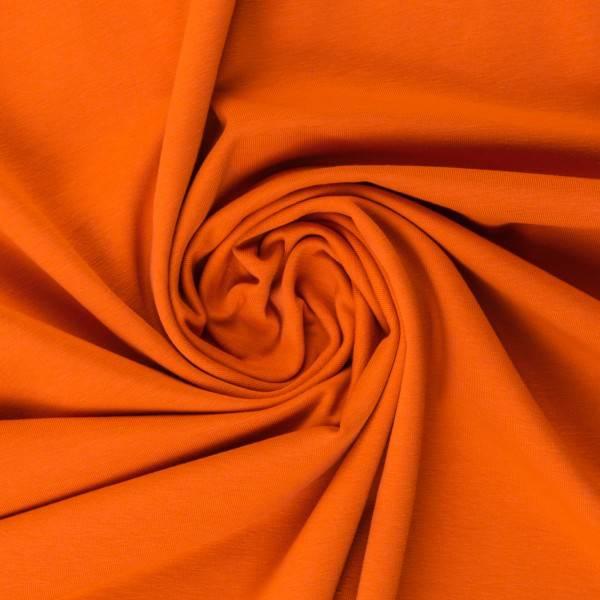 Bilde av Vanessa, Cotton Jersey 000424 Plain, orange