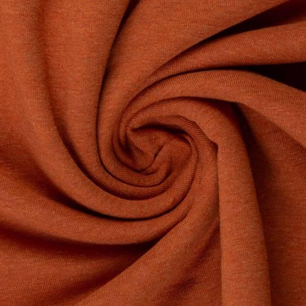 Bilde av Vanessa, Cotton Jersey 001714 Melange, terracotta