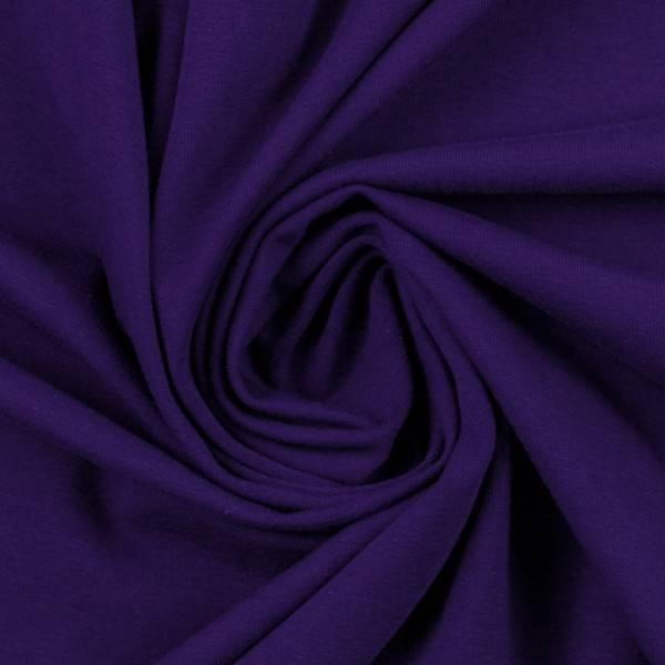 Bilde av Vanessa, Cotton Jersey 000647 Plain, violet