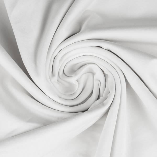 Bilde av Vanessa, Cotton Jersey 000011 Plain, white