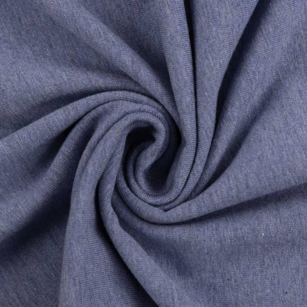 Bilde av Vanessa, Cotton Jersey 001253 Melange, blue