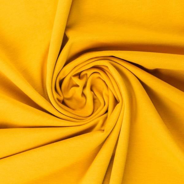 Bilde av Vanessa, Cotton Jersey 000312 Plain, lemon yellow