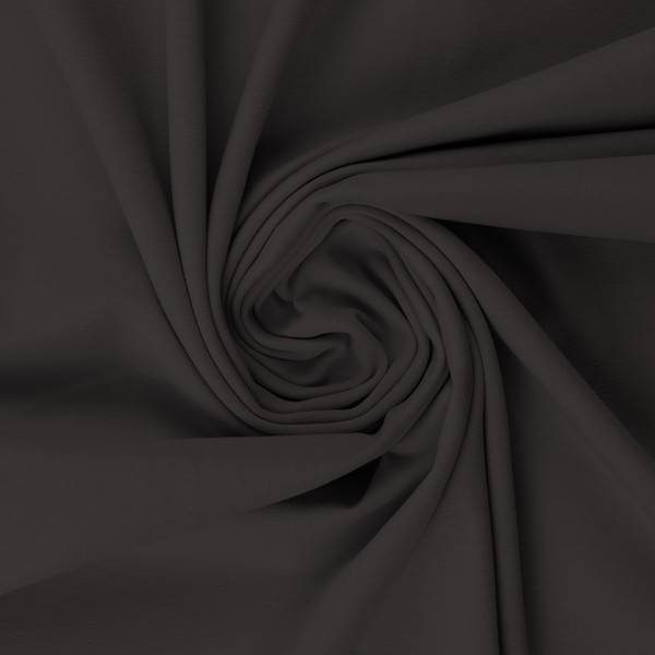 Bilde av Vanessa, Cotton Jersey 000285 Plain, dark grey
