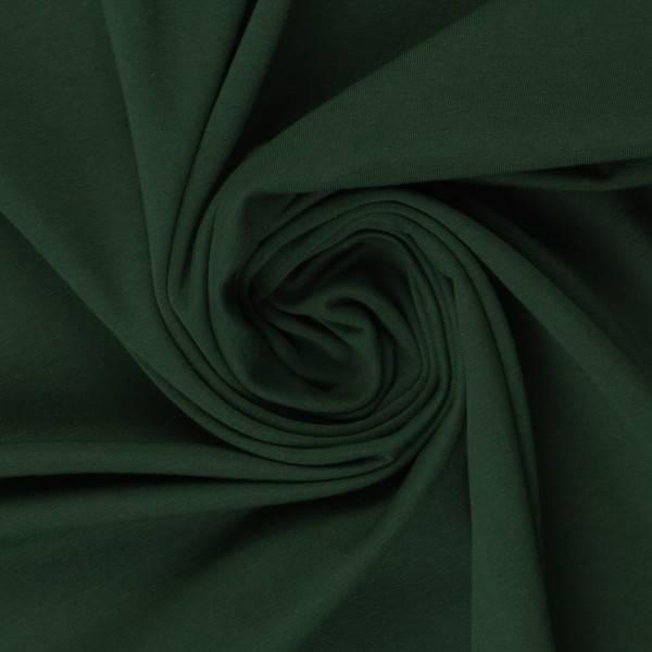 Bilde av Vanessa, Cotton Jersey 000564 Plain, dark green