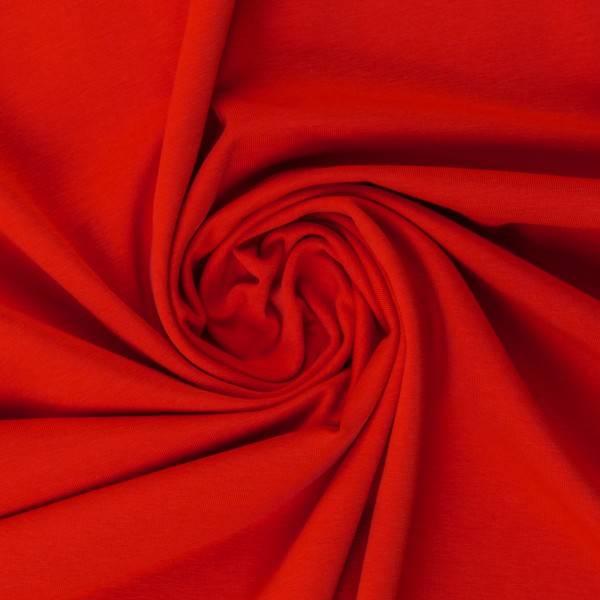 Bilde av Vanessa, Cotton Jersey 000636 Plain, red