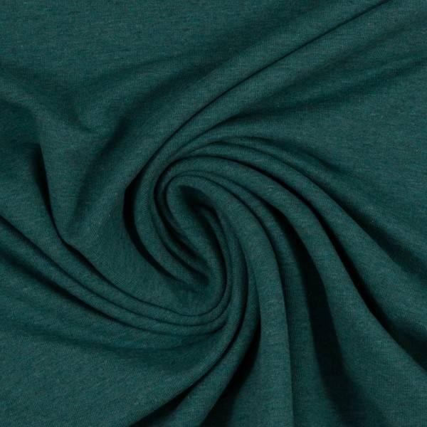 Bilde av Vanessa, Cotton Jersey 001563 Melange, dark green