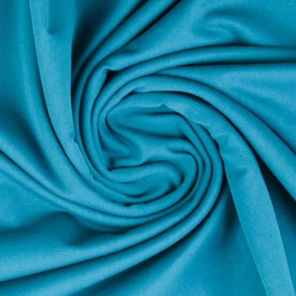 Bilde av Vanessa, Cotton Jersey 000841 Plain, light turquoise