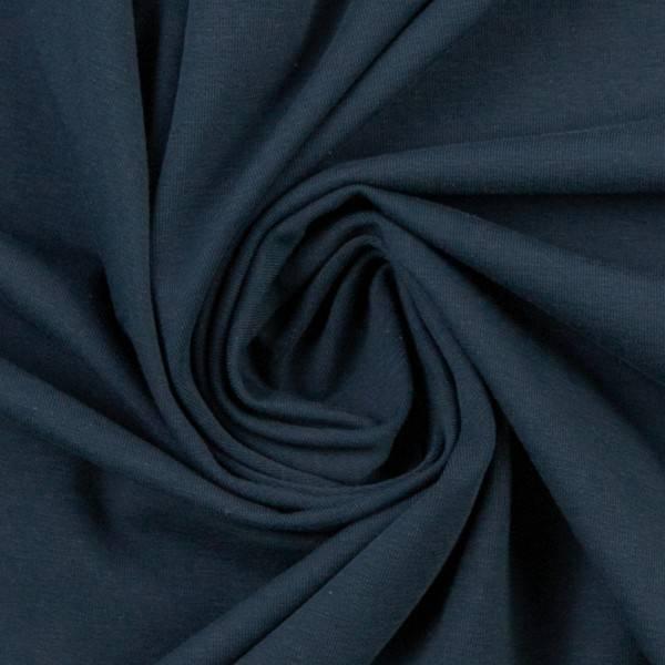 Bilde av Vanessa, Cotton Jersey 000597 Plain, dark blue