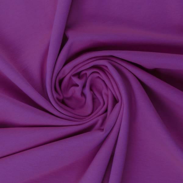 Bilde av Vanessa, Cotton Jersey 000643 Plain, purple