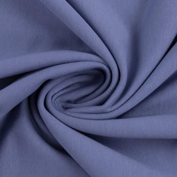 Bilde av Vanessa, Cotton Jersey 000259 Plain, blue grey