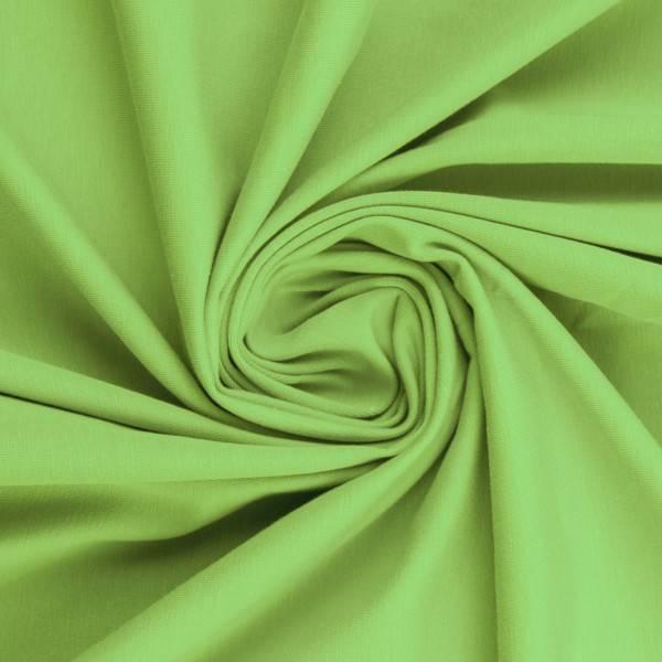 Bilde av Vanessa, Cotton Jersey 000603 Plain, light green