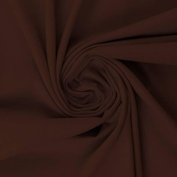 Bilde av Vanessa, Cotton Jersey 000178 Plain, dark brown