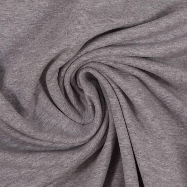 Bilde av Vanessa, Cotton Jersey 001183 Melange, light grey