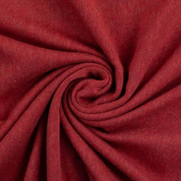 Bilde av Vanessa, Cotton Jersey 001338 Melange, burgundy
