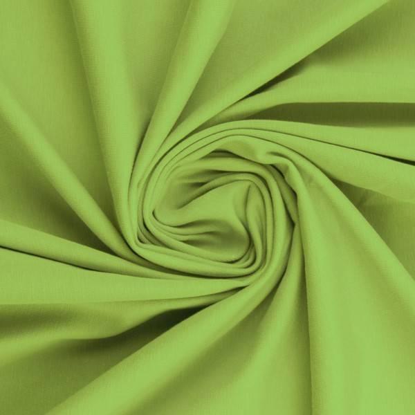 Bilde av Vanessa, Cotton Jersey 000602 Plain, kiwi green