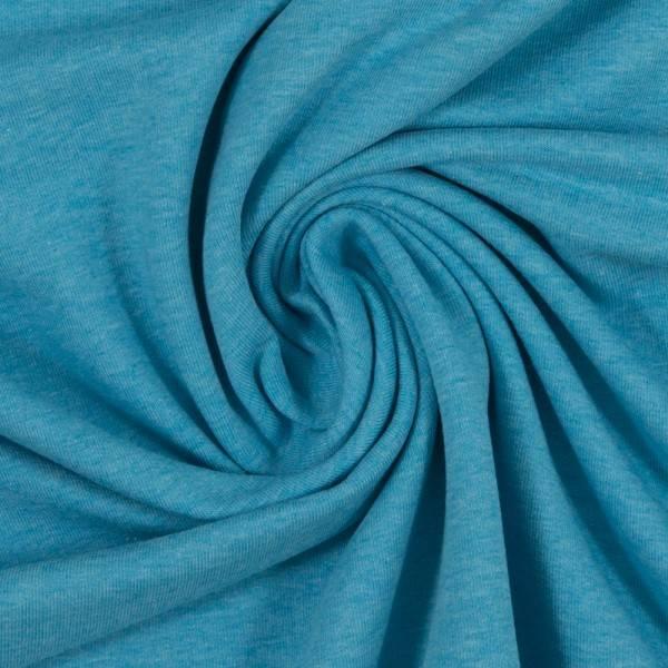 Bilde av Vanessa, Cotton Jersey 001842 Melange, turquoise