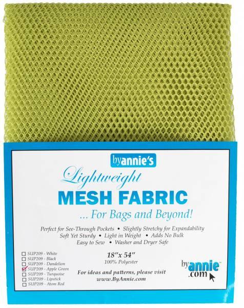 Bilde av By Annie's Mesh fabric SUP209 - Eplegrønn