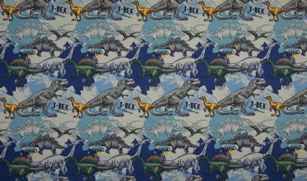 Bilde av Dinosaurer, blå